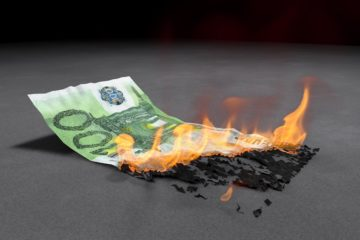 IT Burns Money
