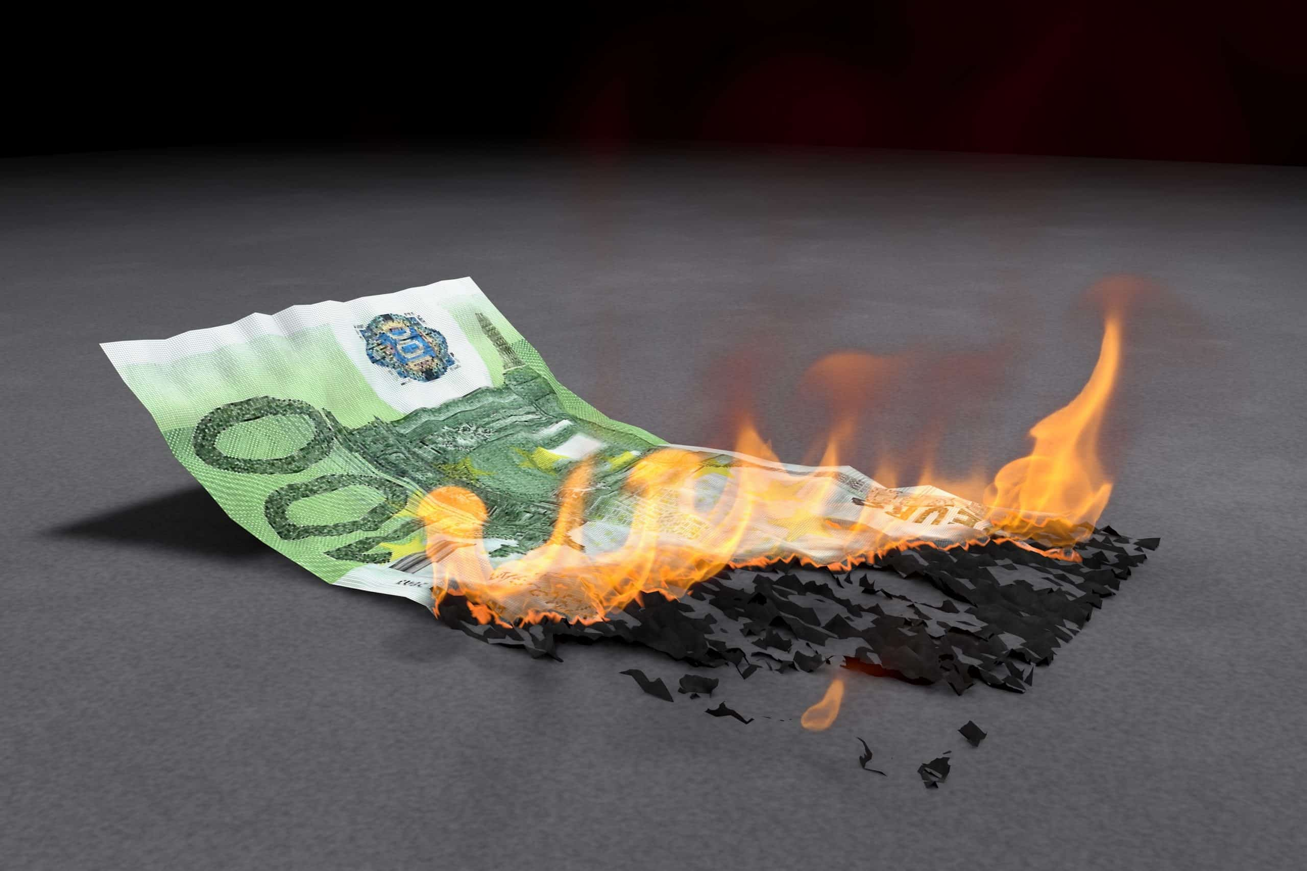 Wir verhindern Geldverbrennung
