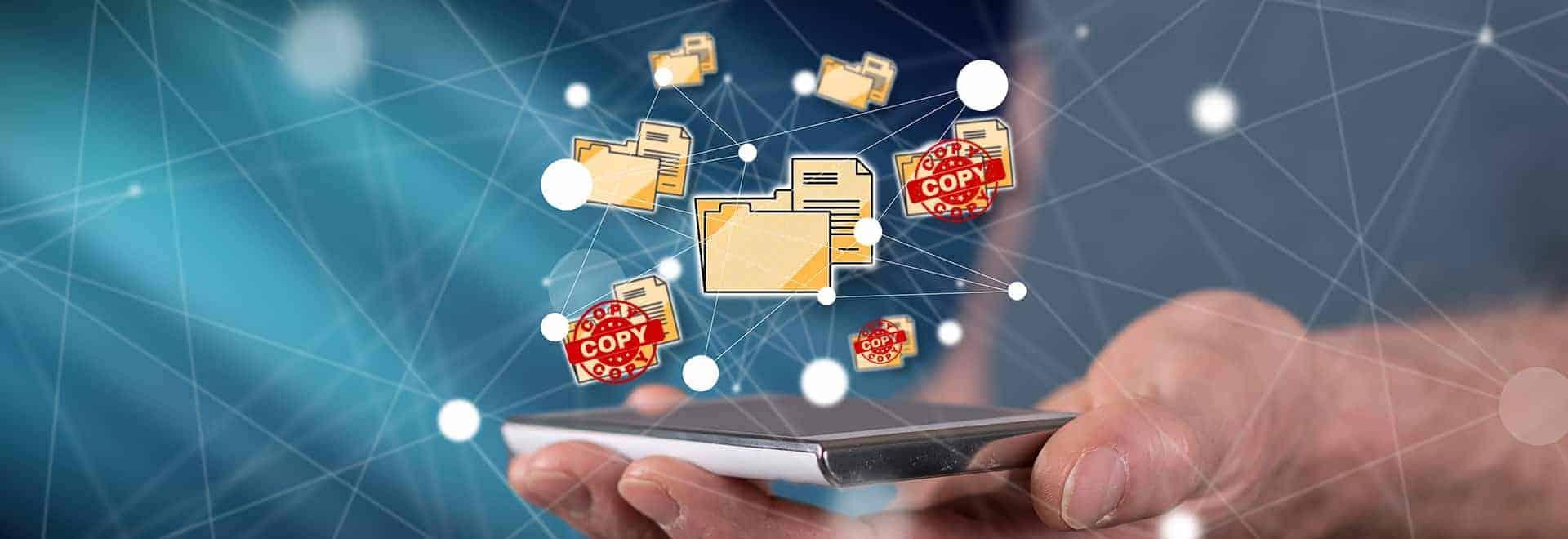 Konzept von Datenverbindungen