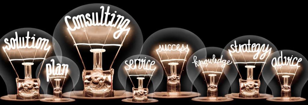 Glühbirnenkonzept